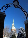 Wake Forest University - Snow at Wake Forest University Photographic Print