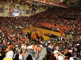 Oregon State University - Gill Coliseum on Game Day Fotografisk tryk