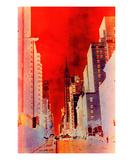 New York 3 Premium Giclee Print by Ella Lancaster