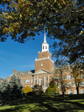 University of Cincinnati - McMicken Hall Through the Trees Photographic Print
