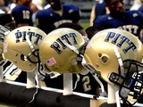 University of Pittsburgh - Pitt Helmets Awaiting Action Photographic Print by Will Babin