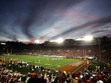 University of Illinois - Sunset at the 2008 Rose Bowl Photographic Print