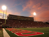University of Mississippi (Ole Miss) - Vaught-Hemingway Stadium Endzone Photographic Print