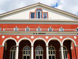 East Carolina University - Wright Auditorium Photographic Print by Rob Goldberg