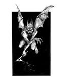 Demonling (Revenge of the Vampire, Illustration no. 25) Premium Giclee Print by Martin Mckenna