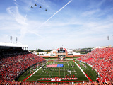University of Louisville - Papa John's Cardinal Stadium Fly-Over Photographic Print