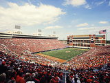Oklahoma State University - Cowboy Fans Fill Boone Pickens Stadium Photo