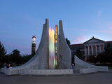 Purdue University - Engineering Fountain Photographic Print