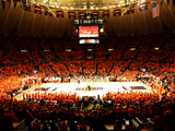 University of Illinois - Paint the Hall Orange Photographic Print