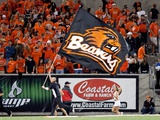 Oregon State University - Beavers Flag Photographic Print