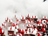 University of Louisville - Louisville Cardinals Take the Field Photographic Print