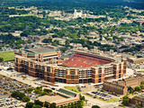 Oklahoma State University - Aerial View of Boone Pickens Stadium Photographic Print