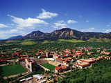 University of Colorado - University of Colorado Aerial Fotografisk tryk