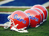 University of Florida - Gators Helmets Photographic Print