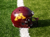 University of Minnesota - Minnesota Football Helmet Photographic Print by Bill Krogmeier