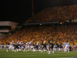 West Virginia University - West Virginia Defeats Auburn Fotografisk tryk