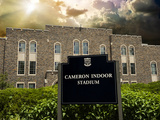 Duke University - Welcome to Cameron Indoor Stadium Photographic Print