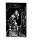 Zombie (Revenge of the Vampire, Illustration no. 28) Premium Giclee Print by Martin Mckenna