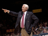 University of Arizona - Coach Lute Olson, Arizona Legend Fotografisk tryk