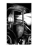 Cloak Coach Escape (Revenge of the Vampire, Illustration no. 09) Premium Giclee Print by Martin Mckenna