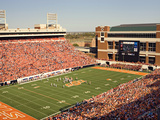 Oklahoma State University - Cowboys Play at Boone Pickens Stadium Fotografisk tryk