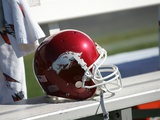 University of Arkansas - Razorback Helmet Photo