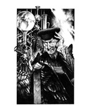 Alchemist (Revenge of the Vampire, Illustration no. 23) Premium Giclee Print by Martin Mckenna