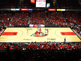 University of Louisville - Freedom Hall Cardinal Basketball Photographic Print