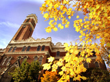 Vanderbilt University - Kirkland Hall in the Fall Photographic Print