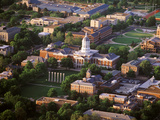 University of Missouri - Aerial View of Francis Quad Prints by Robert Llewellyn