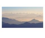Himalayas 2 Premium Giclee Print by Ella Lancaster