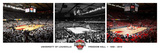 University of Louisville - Special Edition: Lousiville's Freedom Hall Fotografisk tryk