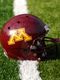 University of Minnesota - Minnesota Helmet Photographic Print by Bill Krogmeier