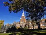 University of Cincinnati - Blue Skies over McMicken Hall Fotografisk tryk