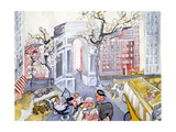 Washington Square Reproduction procédé giclée par Zelda Fitzgerald