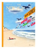 The New Yorker Cover - July 14, 1997 Regular Giclee Print by Ian Falconer