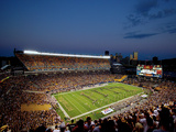 University of Pittsburgh - Heinz Field at Dusk Photo by Will Babin