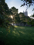Boston College - Bapst Library Photographic Print