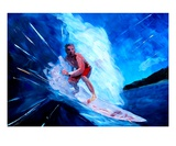 The Surfer Premium Giclee Print by Markus Bleichner