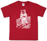 Youth: Astronaut Word Art T-shirty