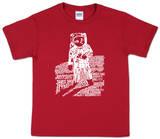 Youth: Astronaut Word Art T-Shirt