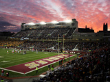 Boston College - Alumni Stadium Photographic Print by John Quackenbos