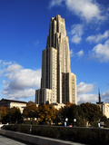 University of Pittsburgh - Towering Cathedral of Learning Photographic Print by Will Babin