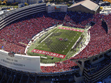University of Wisconsin - Camp Randall Stadium Fotografisk tryk af Madison / University Communications