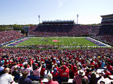University of Mississippi (Ole Miss) - Vaught-Hemingway Stadium Photographic Print