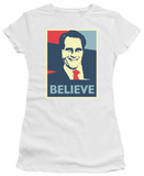 Juniors: Mitt Romney - Believe T-Shirt