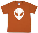 Youth: Alien 'I Come In Peace' Word Art Shirt