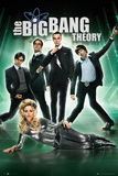 The Big Bang Theory-Green Group Affiche