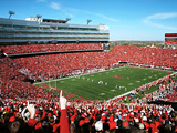 University of Nebraska - Kick Off at Memorial Stadium Photographic Print