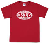 Youth: John 3:16 Word art Shirt